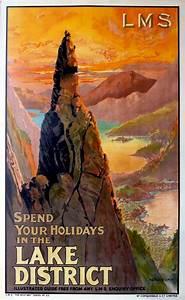 Montague, B, Black, Original, 1920s, Lms, Railway, Poster