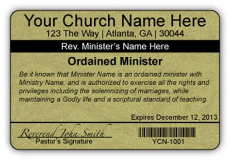 ordained minister business cards oxynuxorg