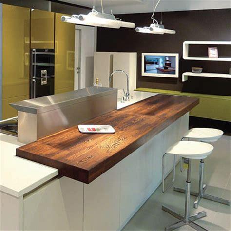 plan de travail cuisine bois brut ilôts flip design boisflip design bois