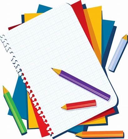 Rentree Scolaire Clip Ecole Crayons Sur Paper