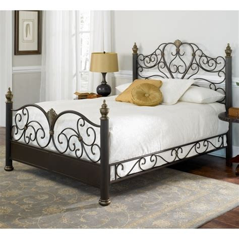black wrought iron headboard rustic metal bed frames bedroom black wrought iron bed