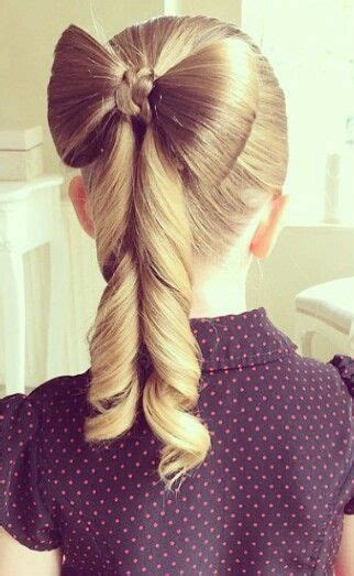 bow ponytail hairstyle  girls atfashionsdream
