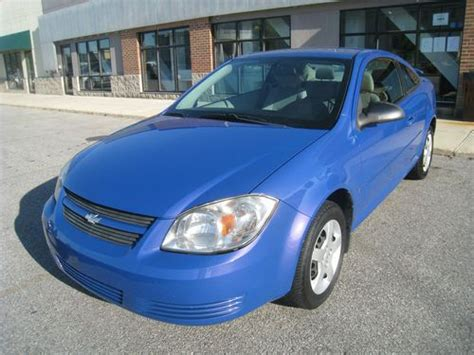 sell   chevrolet cobalt ls coupe  door