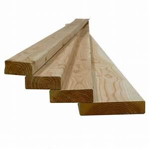 Poteau Bois Rond 3m : bois d 39 ossature mboc sec douglas naturel 45x270mm 3m sud ~ Voncanada.com Idées de Décoration