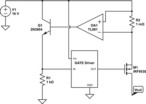 Power Supply Mosfet Based Current Limiter Electrical