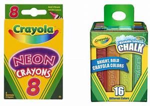 Crayola Deals Sidewalk Chalk $2 and Neon Crayons $1