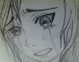 Sad Girl Crying Drawing Sad Girl Crying Drawing Drawing Of ...