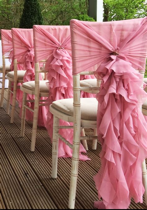 ruffle hoods deans chair covers chair cover hire for