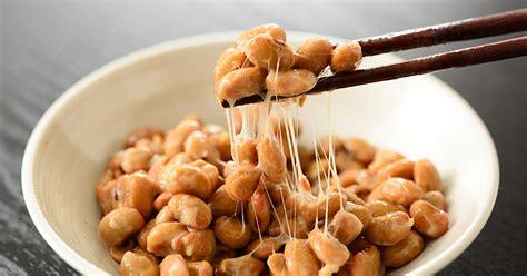 natto fermented soybean      shape