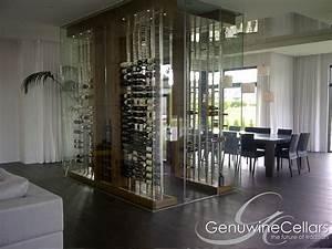 Glass-Enclosed Wine Cellars Genuwine Cellars
