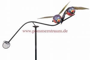 windspiele aus metall fur den garten und balkon pommerntraum With französischer balkon mit windspiele für den garten