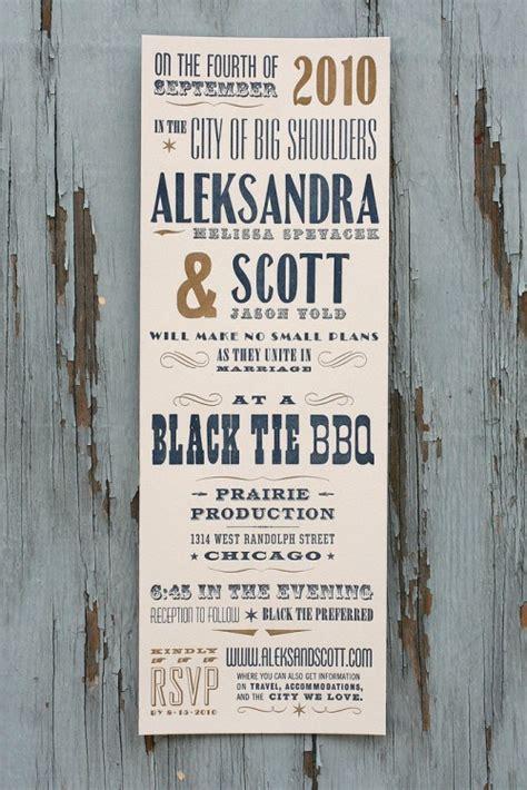 Aleksandra + Scott's Antique Wood Type Poster Wedding