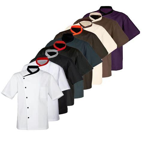 veste de cuisine manche courte veste manches courtes bragard juliuso vestes de cuisine