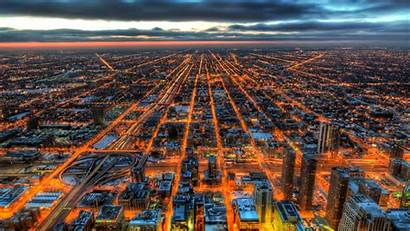 Hdr Chicago 4k Wallpapers Resolution Backgrounds 1440p