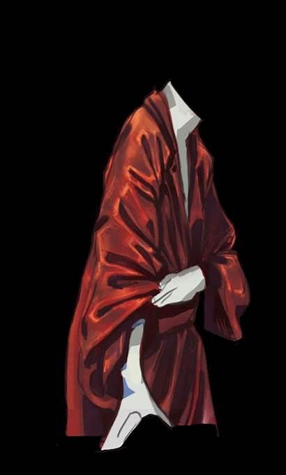 Female Robe Silk Re