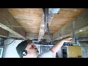 Couper Rail Placo : coller une bande placo au plafond raccord bord plat ~ Melissatoandfro.com Idées de Décoration