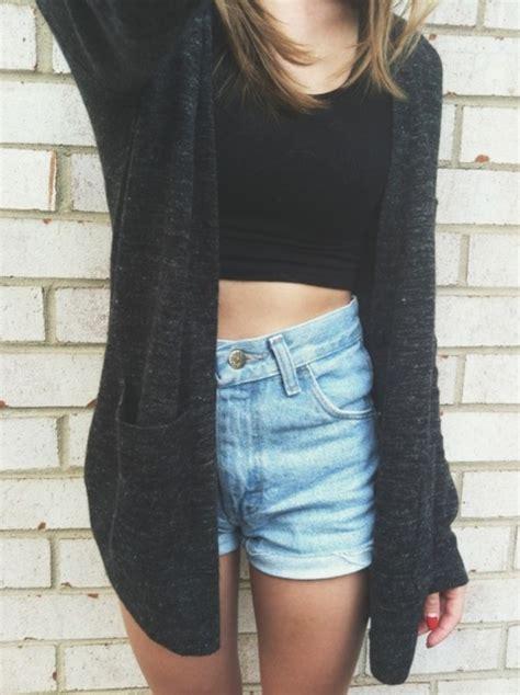 Black Long Sleeve Pockets Loose Cardigan Sweater