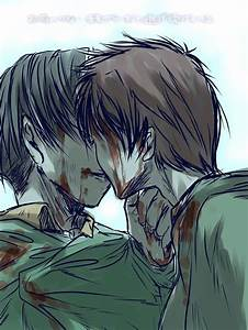 Rivaille (Levi) x Eren Jaeger | Attack on Titan | Pinterest