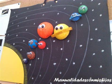 manualidades con mis hijas el universo y nuestro sistema solar proyecto los planetas y
