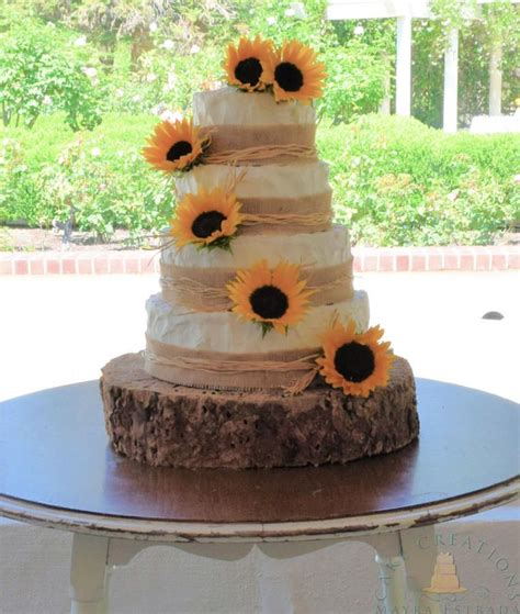 You Are My Sunshine Cake By Cake Creations By Me Mayra Estrada Rustic Wedding Cakes