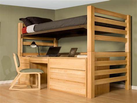 how to build a loft bed with desk building a loft bed simple nat design stroovi