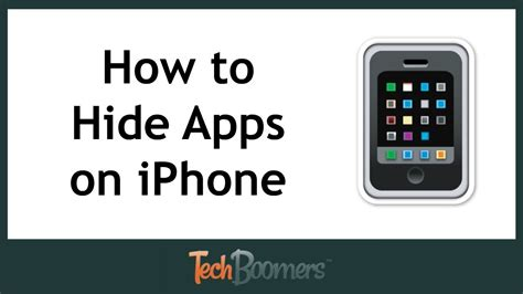 hide apps in iphone how to hide apps on iphone