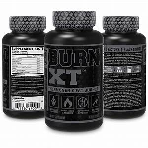 Burn Xt Black Thermogenic Fat Burner  U2013 Weight Loss Supplement  Appetite Suppressant  Nootropic