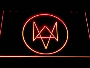 Watch Dogs Logo LED Neon Sign
