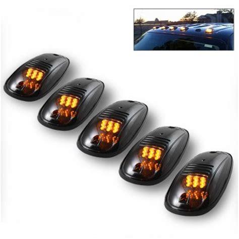 led cab lights ford super duty ford f250 super duty 1999 2007 led cab lights smoked