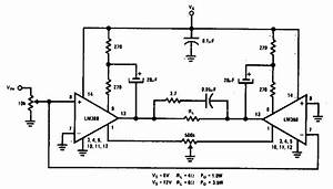 Simple Bridge Amplifier Circuit Diagram