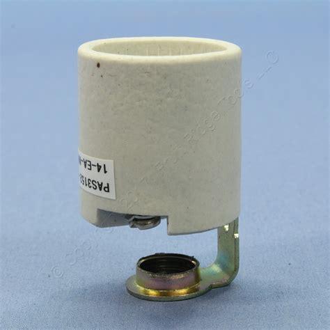 Porcelain Keyless L Holder by P S Medium Keyless Porcelain L Holder Pan Light Socket