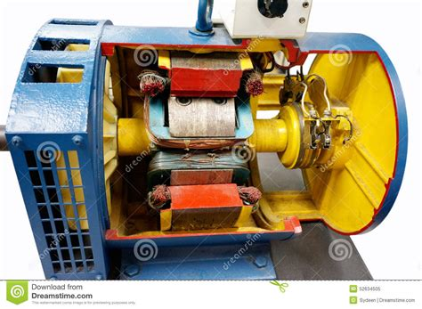 Motor Sincron by Cut Way Synchronous Motor Stock Image Image Of Magnetic