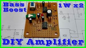 Make A Stereo Amplifier With Bass Boost For Smartphone
