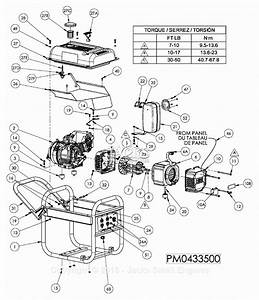 Powermate Formerly Coleman Pm0433500 Parts Diagram For