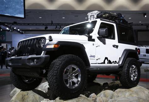 2018 Jeep Wrangler Debut by Mopar Modified 2018 Jeep Wranglers Debut In La Jk Forum