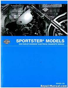 Used 2009 Harley Davidson Sportster Motorcycle Electrical