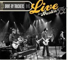 drive by truckers live in austin cd dvd leeway s home