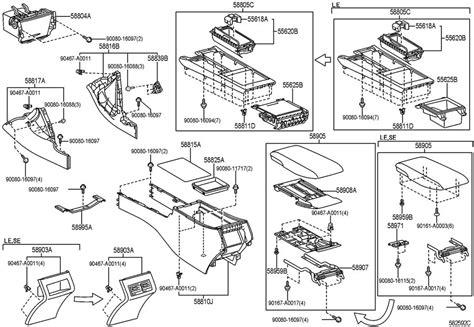 2008 Toyotum Sequoium Fuse Diagram by Toyota Sequoia Oem Parts Diagram Html Imageresizertool