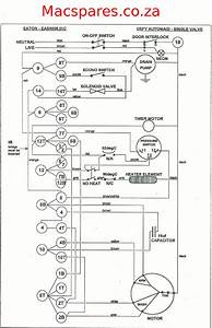 Electronic Washing Machine Control Circuit Diagram