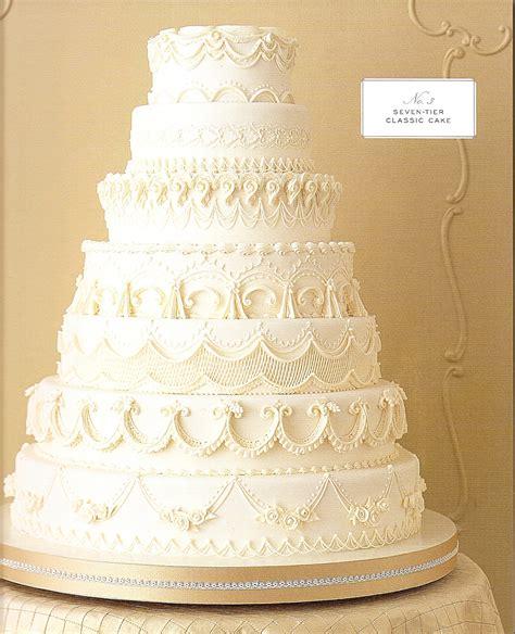 Martha Stewarts Wedding Cakes Penny La