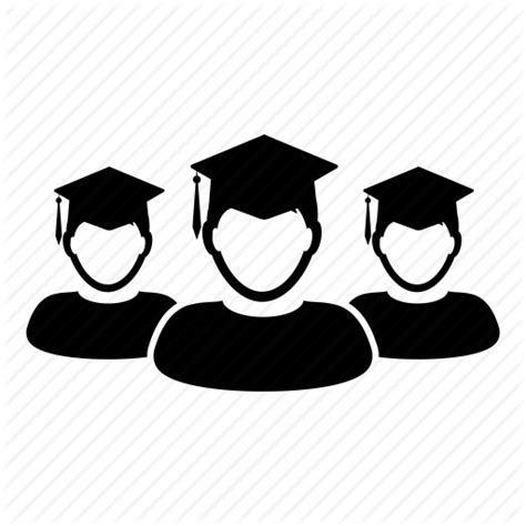 15238 student icon png academic education graduation school student users