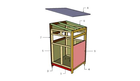 deer blind plans 4x4 deer stand plans free garden plans how to build