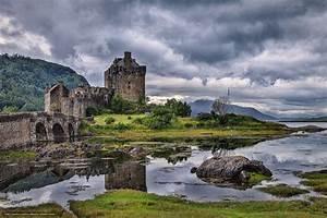 Download wallpaper Eilean Donan Castle, Scotland, Eilean ...