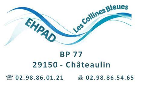 Offres D'emploi Ehpad Les Collines Bleues (chateaulin