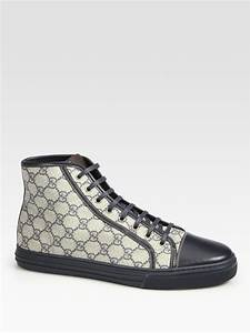 2083f1b5a2028 Gucci High Top. gucci coda ssima high tops in brown for men lyst ...