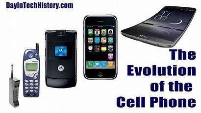 Cell Phone 1973 Evolving Evolution History Cellular