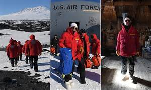 john kerry  senior politician  visit antarctica
