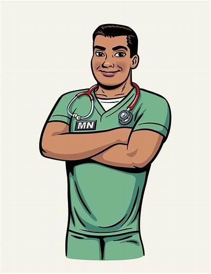 Nursing Cartoon Clipart Nurse Male Clip Cartoons