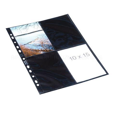 Kabata fotogrāfijām 10 x 15 cm A4 (melna starplika) 10 gab ...