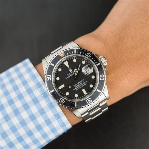 Buy Used Rolex Submariner 16800 | Bob's Watches - Sku: 120319